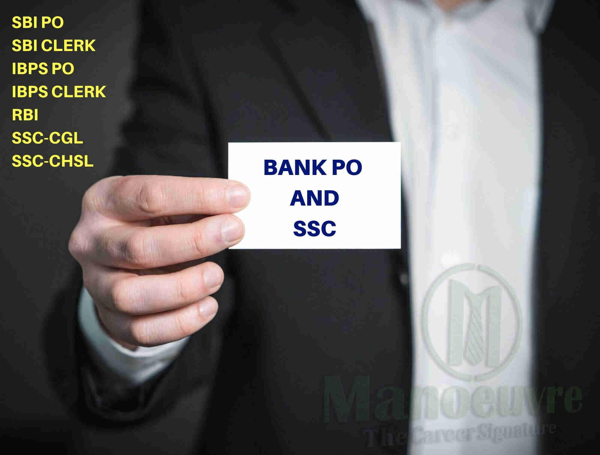 BANK PO & SSC